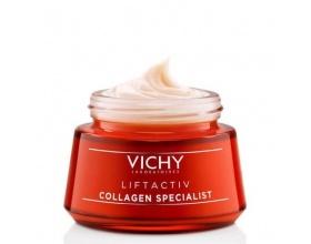 VICHY Liftactiv Collagen Specialist Κρέμα Προσώπου Κρέμα ημέρας - Eπανόρθωση βαθιών και κάθετων ρυτίδων 50ml