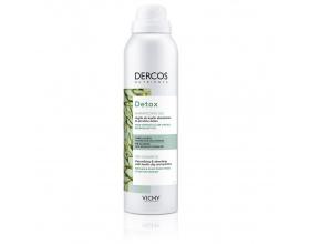 VICHY NUTRIENTS Dercos Detox Dry Shampoo Ξηρό σαμπουάν για μαλλιά & τριχωτό που είναι λιπαρά 150ml