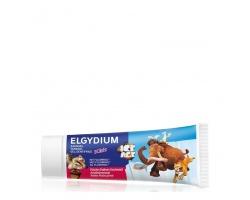 Elgydium Kids Οδοντόπαστα Gel Ice Age με άρωμα φρέσκια φράουλα 50ml
