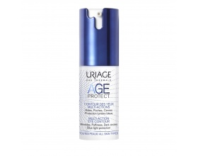 Uriage Age Protect Multi-Action Eye Contour Κρέμα Ματιών Πολλαπλής Δράσης,15ml