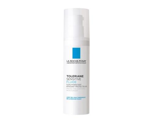 La Roche-Posay Toleriane Sensitive Fluide Κρέμα προσώπου με πρεβιοτικά για μικτό πρός λιπαρό δέρμα   40ml