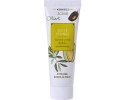 Korres Scrub Olive Stones Δυνατό Scrub Βαθιάς Απολέπισης, 18ml