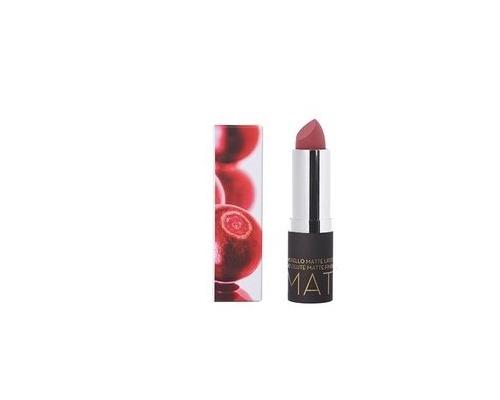 Korres Morello Matte Lipstick 23 natural purple Ματ Κραγιόν Με Κρεμώδη Υφή 3,5g