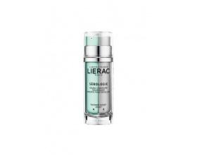 LIERAC SEBOLOGIE Resurfacing Double Concentrate Κρέμα προσώπου για λιπαρό δέρμα με ατέλειες 2*15ml
