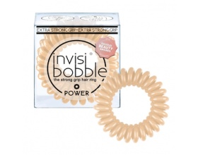 Invisi bobble Κοκαλάκι Hair Rings Power To Be or Not  Nude, 3τμχ