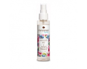 Messinian Spa Hair & Body Mist Οrange-Vanilla-Blueberry Πορτοκάλι-Βανίλια-Μύρτιλο 100ml