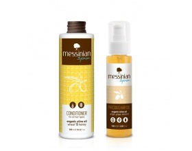 Messinian Spa Precious Hair Oil Λάδι για τα μαλλιά με αμυγδαλέλαιο και λάδι από σταφύλι και βερίκοκο 100ml +ΔΩΡΟ Conditioner Μαλακτική κρέμα με σιτάρι & μέλι 300ml