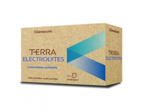 Genecom Terra Electrolytes Συμπλήρωμα διατροφής χρήσιμο για την ενυδάτωση του οργανισμού 10 sach