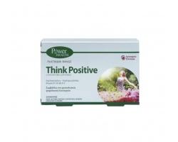 Power Health Classics Platinum Think Positive Φόρμουλα περιέχει τις βιταμίνες B1, B5, B6, B12 καθώς και εκχυλίσματα Κρόκου και Ροδιόλας 30caps