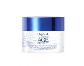 Uriage Eau Thermale Age Protect Απολεπιστική Κρεμά Νυκτός Πολλαπλών Δράσεων 50ml
