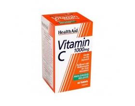 Health Aid Vitamin C 1000mg Με ασερόλα αγριονταφυλλιά ρουτίνη & εσπεριδίνη 60 Ταμπλέτες
