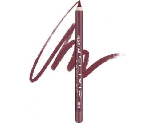 Elixir Waterproof Lip Pencil Αδιάβροχο Μολύβι Χειλιών 029 Keepsake Pink, 1τμχ
