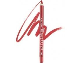 Elixir Waterproof Lip Pencil Αδιάβροχο Μολύβι Χειλιών 040 Coral Red, 1τμχ