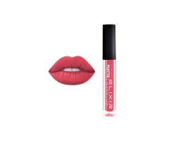 Elixir Liquid Lip Matte Ενυδατική φόρμουλα Κραγιόν μεγάλης διάρκειας 406 Warm Pink, 1τμχ