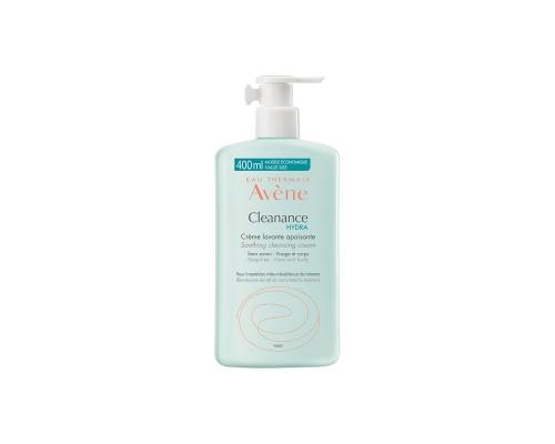 Avene Cleanance Hydra Creme Lavante Καθαρίζει απαλά το λιπαρό δέρμα 400ml