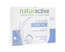 Naturactive Seriane Chrono Συμπλήρωμα διατροφής που βοηθάει να μένετ ήρεμοι & νηφάλιοι 6 δισκία
