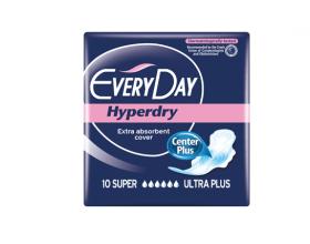 EveryDay Hyperdry Center Plus, Σερβιέτες Super Ultra Plus, 10τμχ