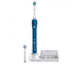 OralB Smart 4 4000 Cross Action Επαναφορτιζόμενη Ηλεκτρική Οδοντόβουρτσα, 1τμχ