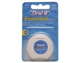 ORAL-B Essential floss Κηρωμένο Οδοντικό νήμα απομακρύνει την πλάκα από περιοχές όπου η οδοντόβουρτσα δεν φτάνει 50 m