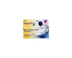 Medichrom Hyaluvit Υαλουρονικό Οξύ με Βιταμίνη C 30 δισκία