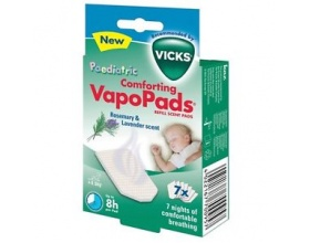 Vicks Paediatric Comforting Vapopads Refill Scent Pads Ταμπλέτες με Άρωμα Λεβάντας 7tabs