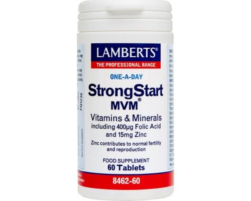 Lamberts Strongstart MVM Πολυβιταμίνη για Γυναίκες  60 Tablets