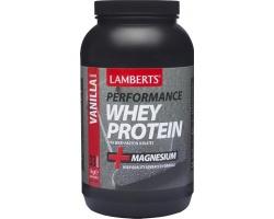 Lamberts Performance Whey Protein 1000gr - γεύση ΒΑΝΙΛΙΑ