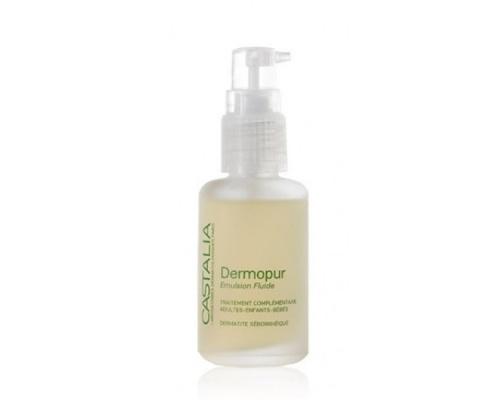 Castalia Dermopur Emulsion Fluide Λοσιόν για τη Σμηγματορροϊκή Δερματίτιδα & τη Νινίδα 30ml