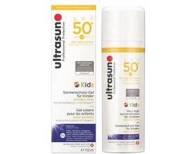 ultrasun Kids Gel SPF50+ Αντηλιακό Γαλάκτωμα Για Παιδιά 150ml