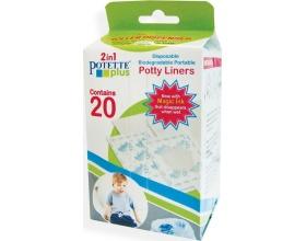 Babywise Potette Plus 2 in 1, Ανταλλακτικές σακούλες Βιοδιασπώμενες σε Ρολό, 20 τμχ.