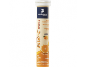 My Elements ESTER-C 1000mg Συμπλήρωμα διατροφής με βιταμίνη C σε εστερική μορφή ήπια για το στομάχι 20 Αναβράζοντα Δισκία