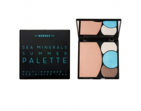 KORRES Sea Minerals Summer Palette, Blue Waters Πρόσωπο & μάτια 13gr