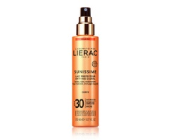 Lierac Sunissime Lait Protecteur Energisant Anti-Age Global Corps SPF30 Aντηλιακό Αντιγηραντικό Γαλάκτωμα Σώματος, 150ml