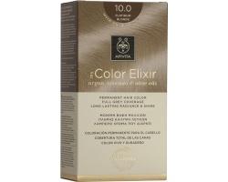 Apivita My Color Elixir Μόνιμη Βαφή Μαλλιών No10.0 Κατάξανθο, 1 τεμάχιο