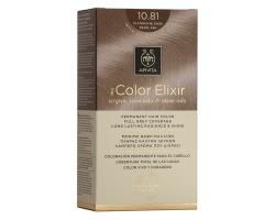 Apivita My Color Elixir Μόνιμη Βαφή Μαλλιών No 10.81 Κατάξανθο Περλέ Σαντρέ, 1 τεμάχιο