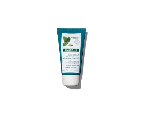 Klorane Anti-Pollution Protective Conditioner with Aquatic Mint Προστατευτική Μαλακτική Κρέμα, 150ml