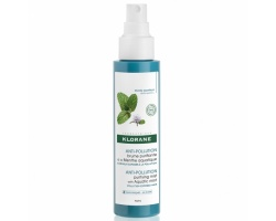 Klorane Anti-Pollution Purifying Mist with Aquatic Mint Καθαριστικό Σπρέι Μαλλιών, 100ml