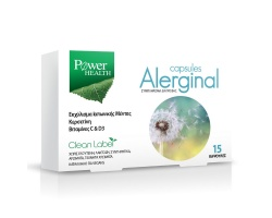 Power Health Alerginal for seasonal allergies Συμπλήρωμα για την αντιμετώπιση των αλλεργιών 15caps