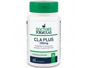 DOCTOR'S FORMULA CLA Plus 1250mg 60 Κάψουλες