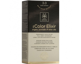 Apivita My Color Elixir Μόνιμη Βαφή Μαλλιών No 3.0 Καστανό σκούρο 1 τεμάχιο