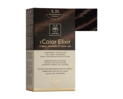 Apivita My Color Elixir Μόνιμη Βαφή Μαλλιών No 5.35 Καστανό ανοιχτό μέλι μαονί 1 τεμάχιο