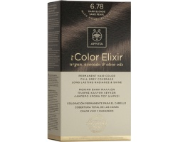 Apivita My Color Elixir Μόνιμη Βαφή Μαλλιών No 6.78 Ξανθό Σκούρο Μπέζ Περλέ, 1 τεμάχιο
