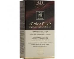 Apivita My Color Elixir Μόνιμη Βαφή Μαλλιών No 6.65 Έντονο κόκκινο, 1 τεμάχιο