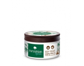 Messnian Spa Body Yogurt Hemp & Coconut Γαλάκτωμα Σώματος με Άρωμα με Έλαιο Κάνναβης και Καρύδας 250ml