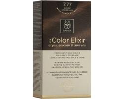 Apivita My Color Elixir Μόνιμη Βαφή Μαλλιών No 7.77 Ξανθό Έντονο Μπεζ, 1 τεμάχιο