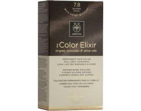 Apivita My Color Elixir Μόνιμη Βαφή Μαλλιών No 7.8 Ξανθό Περλέ, 1 τεμάχιο