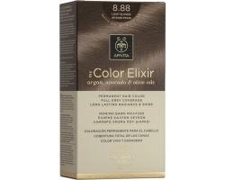 Apivita My Color Elixir Μόνιμη Βαφή Μαλλιών No8.88 Ξανθό Πολύ Ανοιχτό Έντονο Περλέ, 1 τεμάχιο