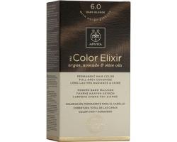 Apivita My Color Elixir Μόνιμη Βαφή Μαλλιών No 6.0 Ξανθό Σκούρο, 1 τεμάχιο