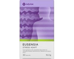 Agan Eusensia Stress Adapt Συμπλήρωμα Διατροφής για την Ρύθμιση & Ισορροπία του Stress, 30 vegicaps