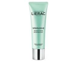 Lierac Sebologie Deep Cleansing Scrub Mask Απολεπιστική Μάσκα Προσώπου, 50ml